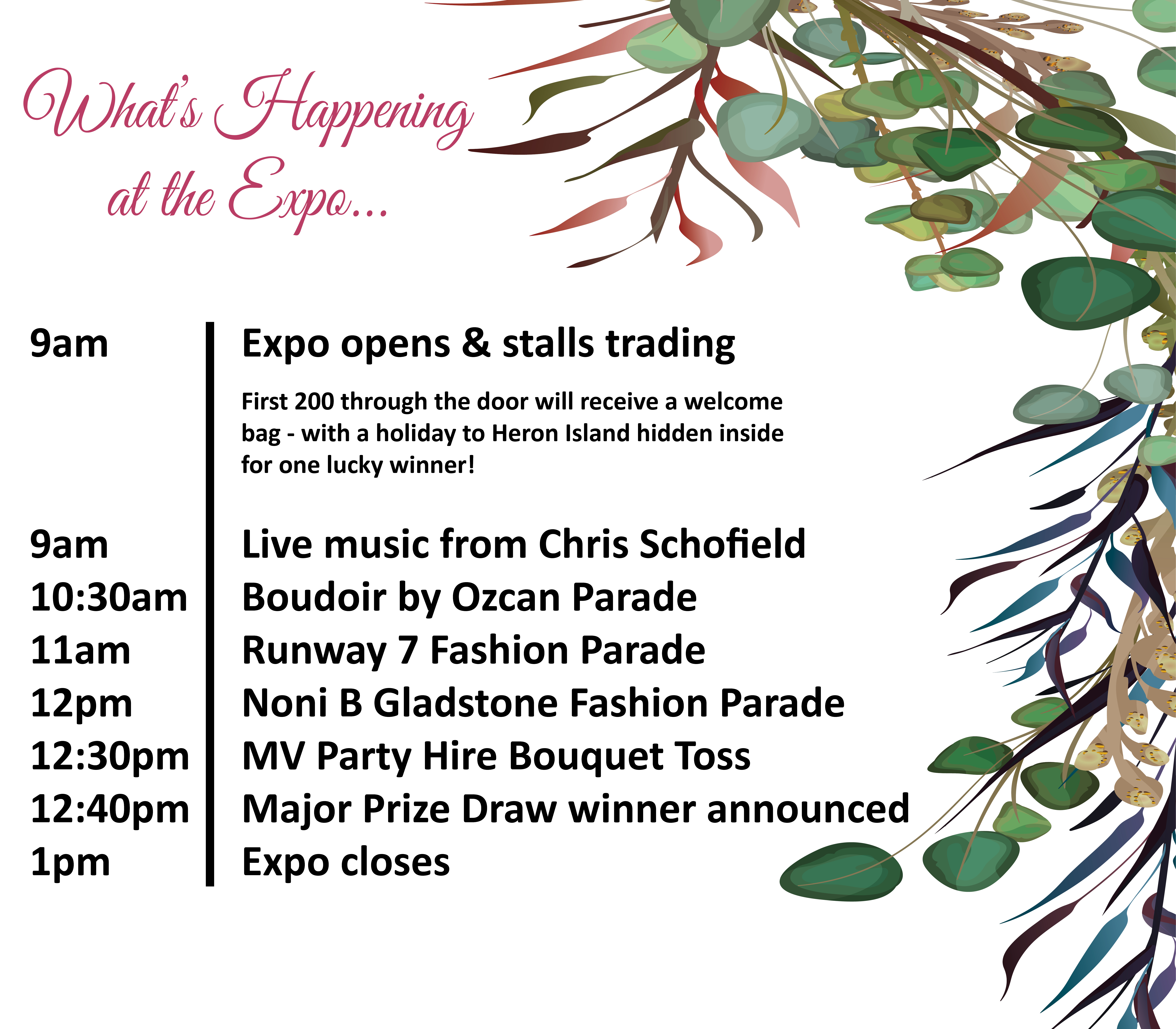 Wedding & Special Events Expo