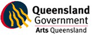 Arts Queensland logo